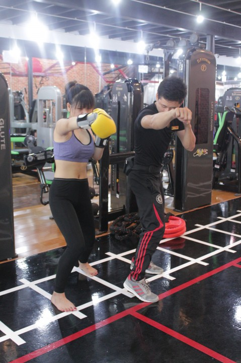 Phòng tập T&V Fitness Center, Quận 1