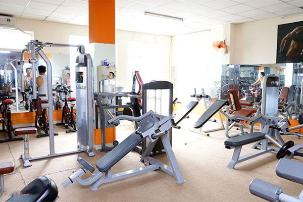 Phòng tập gym NK Gym Fitness Center, Quận 8
