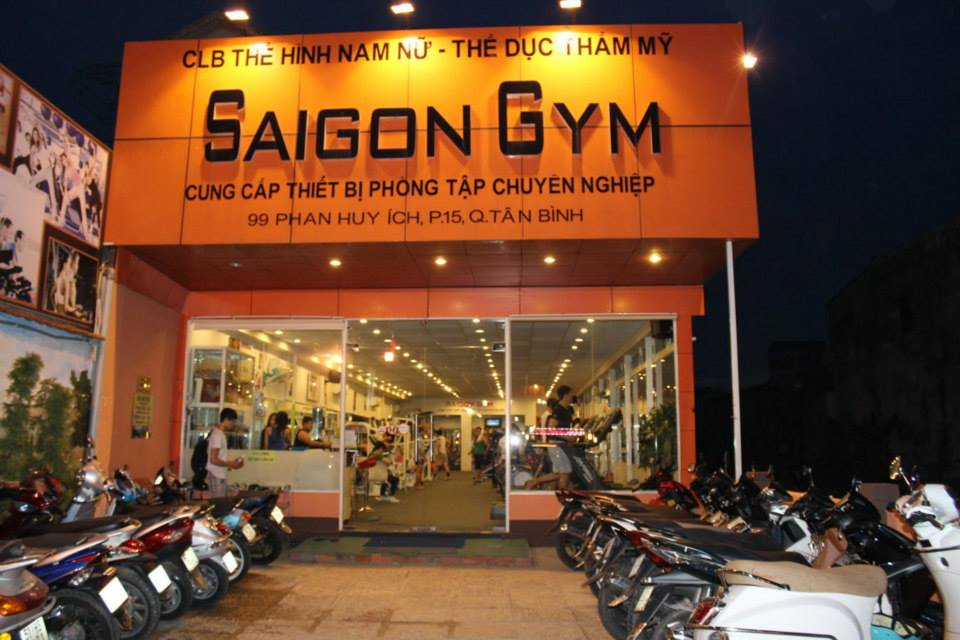 Câu lạc bộ thể hình Saigon Gym, Tân Bình