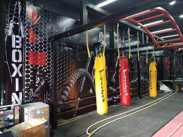 Phòng tập gym và võ thuật MMA - GYM, Quận Tân Bình