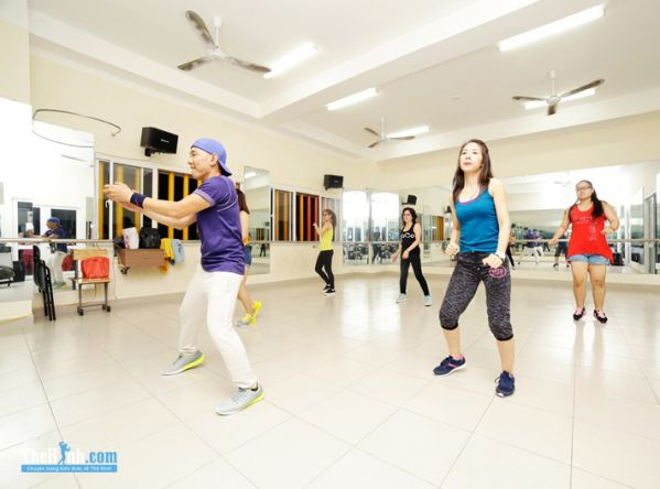 Phòng tập Zumba - WeFit Zumba Fitness, Quận 10