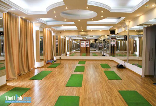 Phòng tập thể hình Heros gym, Nguyễn Thái Học, Quận Ba Đình