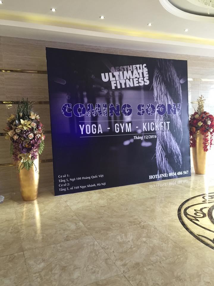Phòng tập gym Aesthetic Ultimate Fitness, Ngọc Khánh, Quận Ba Đình