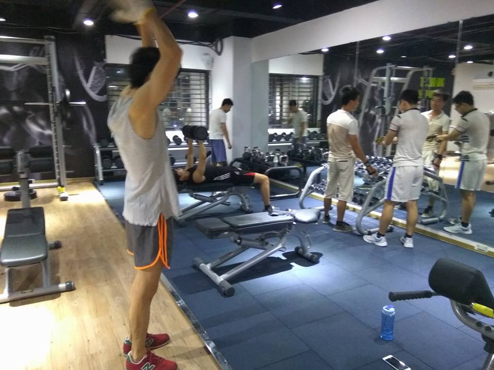 Phòng tập thể hình Rainbow Fitness Linh Đàm