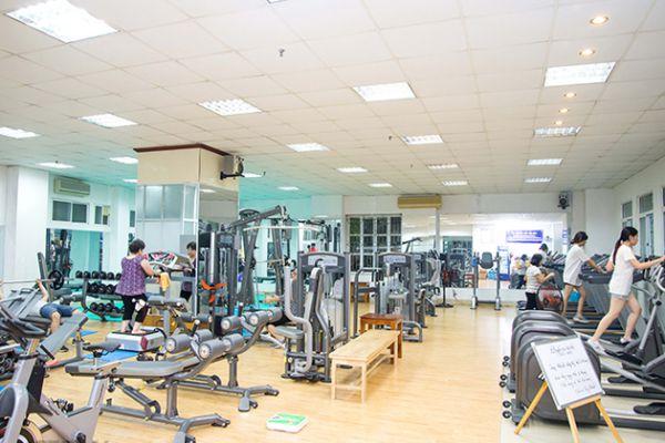 Phòng tâp gym MB Fitness, Lê Đa Thành, Quận Ba Đình