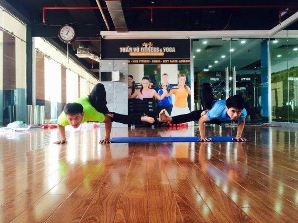 Phòng tập gym Tuấn Vũ Fitness & Yoga, Quận Cầu Giấy