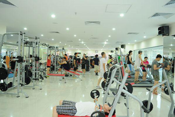 Phòng tập gym SS Club Fitness & Yoga Center, Quận Đống Đa