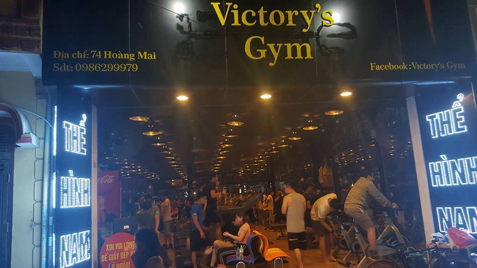 Phòng tập thể hình Victory's Gym, Quận Hoàng Mai