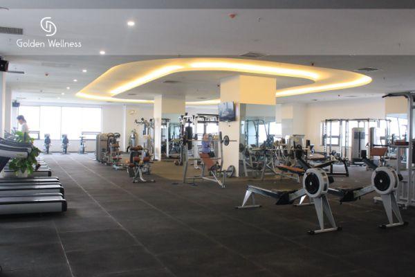 Phòng tập thể hình Golden Wellness Fitness & Spa
