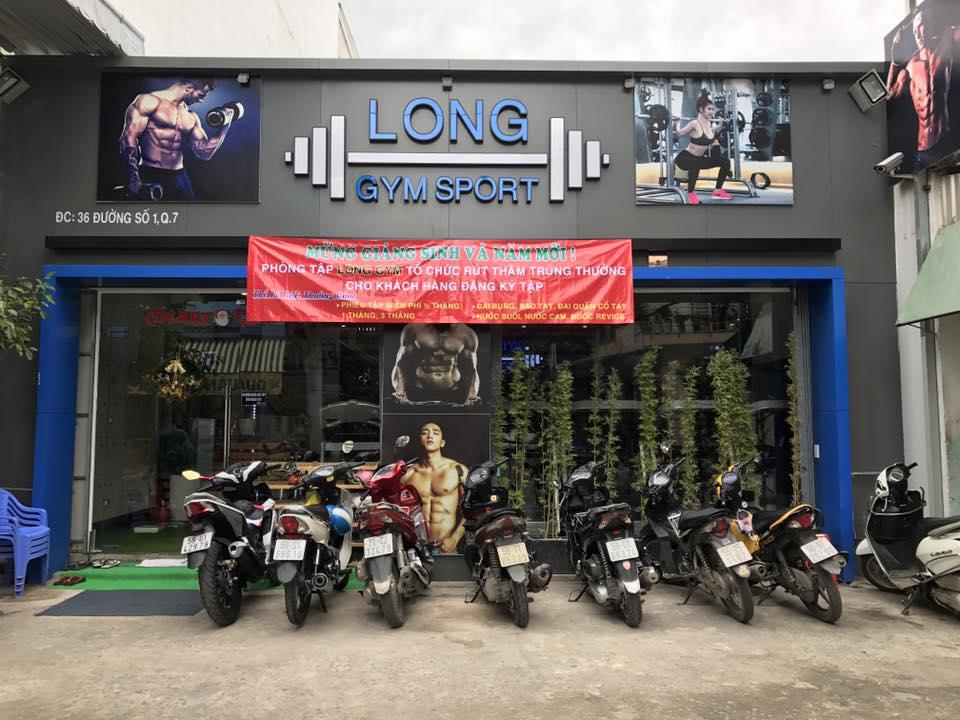 Phòng tập Long Gym Sport, Tân Phú, Quận 7