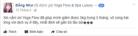 Đánh giá phòng tập Yoga Flow & Spa Luxury