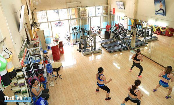 Phòng tập Dáng Ngọc Fitness & Yoga, Trần Thái Tông, Quận Tân Bình