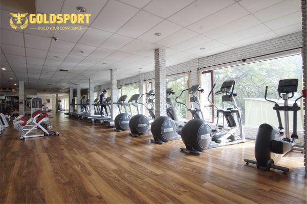 Phòng tập gym GoldSport, Kỳ Hòa, Quận 10 - Đẳng cấp 5*