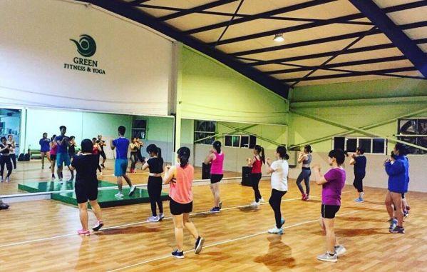 Phòng tập gym Green Fitness & Yoga Center
