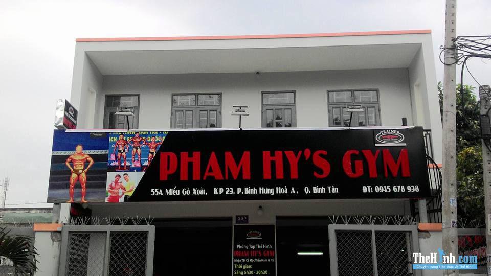 Phòng tập Phạm Hy Gym, Miếu Gò Xoài, Quận Bình Tân