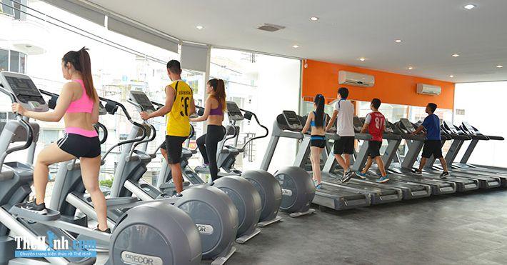 Phòng tập gym S Fitness, Hoàng Việt, Quận Tân Bình