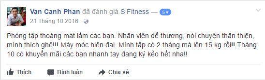 NĐánh giá phòng tập S Fitness Hoàng Việt