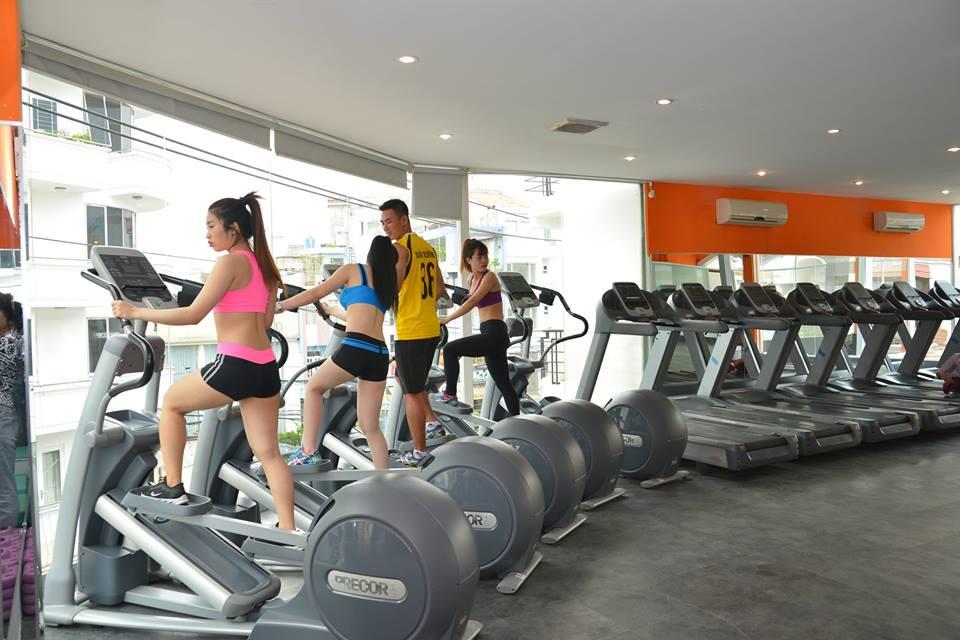 Phòng tập gym S Fitness, Thất Sơn, Quận Tân Bình