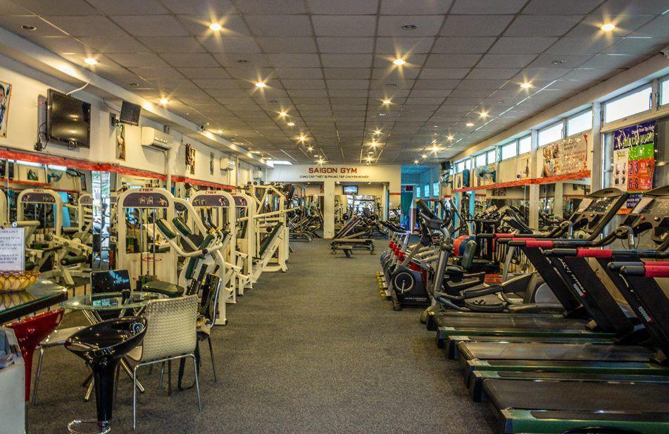 Phòng tập Saigon Gym, Phan Huy Ích, Quận Tân Bình