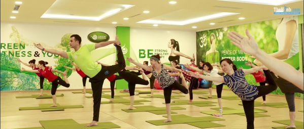 Phòng tập gym Green Fitness & Yoga Giếng Đáy, Hạ Long
