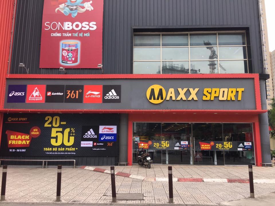MaxxSport-Hệ thống quần áo, phụ kiện thể thao