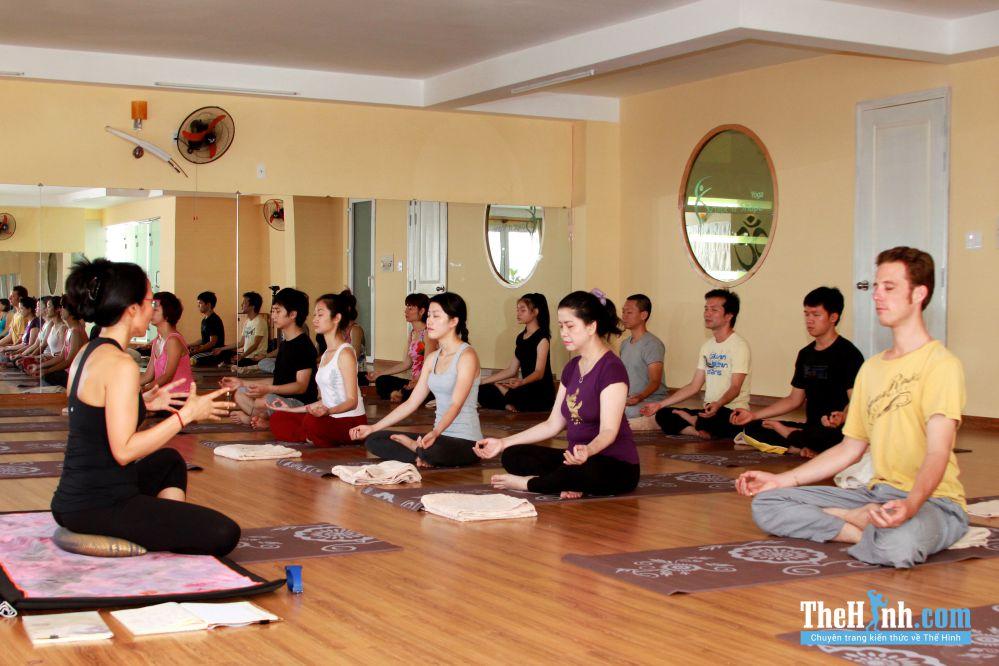 Phòng tập Yoga Sculpt n Shape Studio Võ Văn Tần, Quận 3