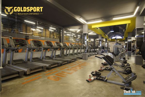 Phòng tập gym GoldSport Tô Hiến Thành, Quận 10