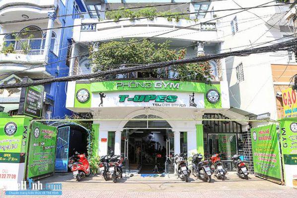 Phòng tập Gym T-Upes Phong Phú, Quận 8