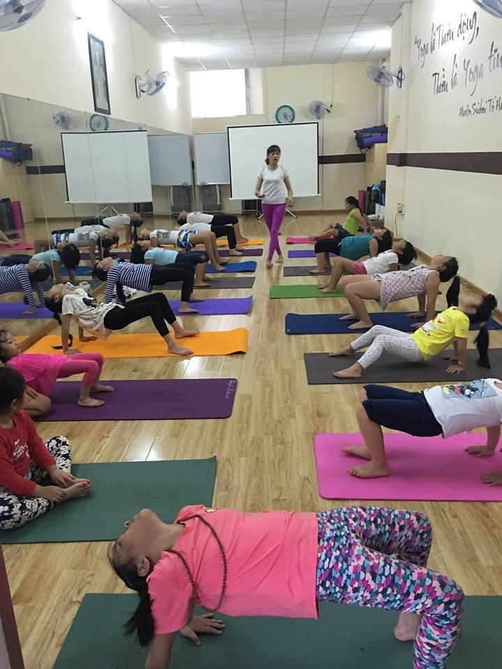 Phòng tập Yoga Secret Club Hoàng Lê Kha, Quận 6