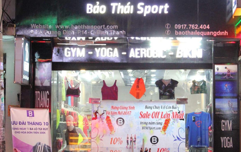 Bảo Thái Sport- Cửa hàng quần áo thể thao, Quận Bình Thạnh
