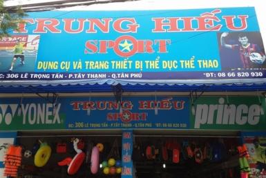 Trung Hiếu Sport- Cửa hàng quần áo , phụ kiện thể thao, Quận Tân Phú