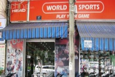 World Of Sport- Cửa hàng quần áo, phụ kiện thể thao, Quận 1